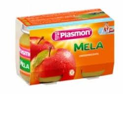 PLASMON OMOGENEIZZATO MELA 2 X 104 G - FARMAEMPORIO