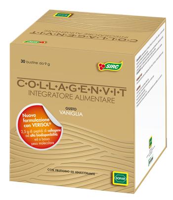 COLLAGENVIT VANIGLIA 30 BUSTE ASTUCCIO 270 G - Farmacia Giotti