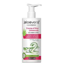ALOEVERA2 CREMA D'ALOE UNIVERSALE VISO MANI E CORPO 300 ML - Sempredisponibile.it