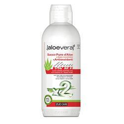 Zuccari Aloe vera x2 Succo Puro d'Aloe con Antiossidanti 1 litro - latuafarmaciaonline.it