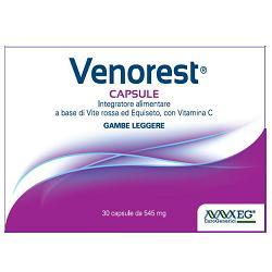 VENOREST CAPSULE 30 CAPSULE - SCAD. 08/2021 - FARMAEMPORIO