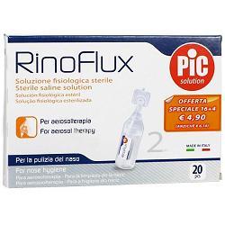 RINOFLUX SOLUZIONE FISIOLOGICA 20 FIALE 2 ML - Farmacia Castel del Monte