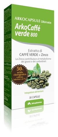 CAFFE' VERDE 800 30 CAPSULE - Farmalandia