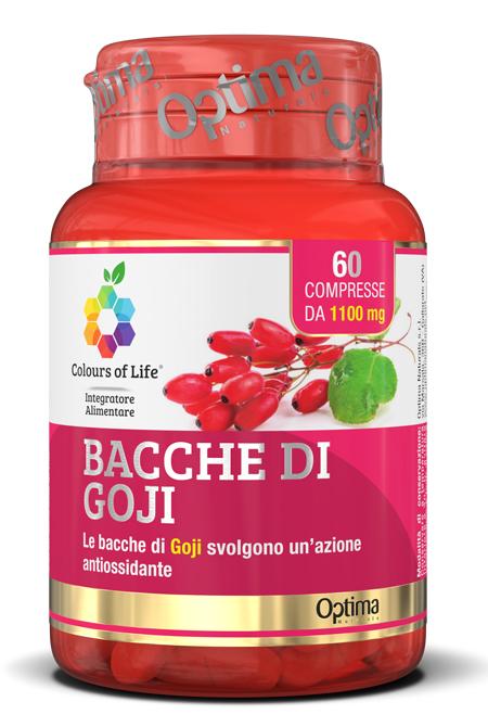 COLOURS OF LIFE BACCHE DI GOJI 60 COMPRESSE 1100 MG - Farmaseller