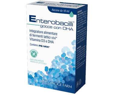 ENTEROBACILLI GOCCE C/DHA 10 ML - FarmaHub.it