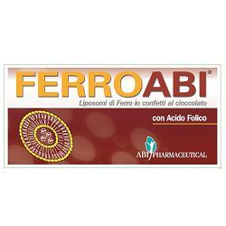 FERROABI 20 CONFETTI OROSOLUBILI AL CIOCCOLATO BLISTER 30 G - Farmabellezza.it