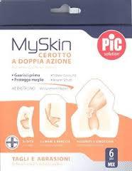 CEROTTO PIC MYSKIN TAGLI & ABRASIONI MIX 6 PEZZI - Carafarmacia.it