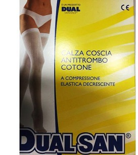 Dualsan Calza Antitrombo con Tassello Misura 2 - Sempredisponibile.it