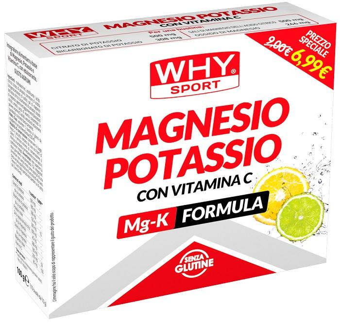 MAGNESIO POTASSIO 10 BUSTE 100 G - Farmacia Massaro