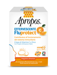 APROPOS FLUPROTECT EFFERVESCENTE C 20 COMPRESSE - Farmawing