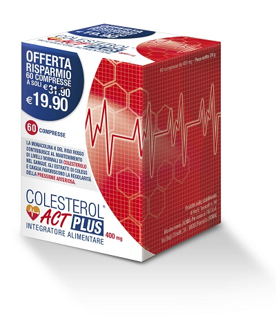 Colesterol act plus 60 compresse - latuafarmaciaonline.it