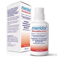 MERIDOL CLOREXIDINA 0,2% COLLUTORIO 300 ML - La farmacia digitale