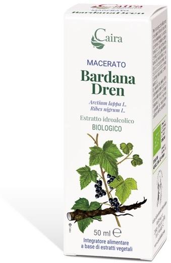 CAIRA BARDANADREN MACERATO IDROALCOLICO BIO GOCCE 50 ML - Parafarmacia la Fattoria della Salute S.n.c. di Delfini Dott.ssa Giulia e Marra Dott.ssa Michela