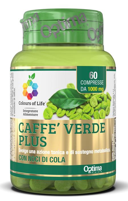 COLOURS OF LIFE CAFFE' VERDE PLUS 60 COMPRESSE 1000MG - Farmaseller