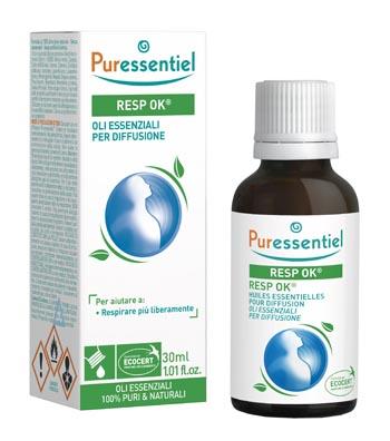 MISCELA RESPIRAZIONE PER DIFFUSIONE 30 ML PURESSENTIEL - farmaventura.it