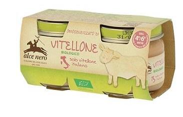 OMOGENEIZZATO DI VITELLONE BABY FOOD BIO 2 X 80 G - Farmastop