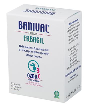 BANIVAL CREMA 10 BUSTINE DA 3 ML - latuafarmaciaonline.it
