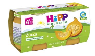 HIPP BIO HIPP BIO OMOGENEIZZATO ZUCCA 2X80 G - Farmacia Castel del Monte