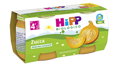 HIPP BIO HIPP BIO OMOGENEIZZATO ZUCCA 2X80 G - Farmafamily.it