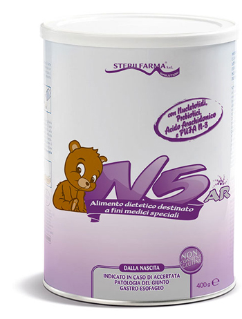N5 AR ALIMENTO DIETETICO PER LATTANTI 400 G - Farmaseller