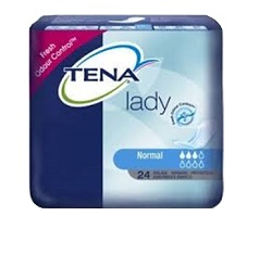 PANNOLONE SAGOMATO TENA LADY NORMAL 12 PEZZI - Nowfarma.it