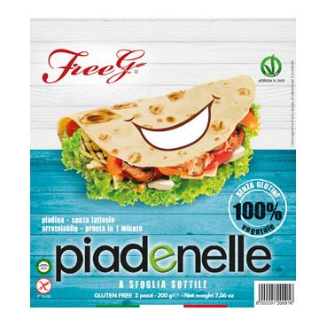Piadenelle Freeg 2 Pezzi 200g - Arcafarma.it