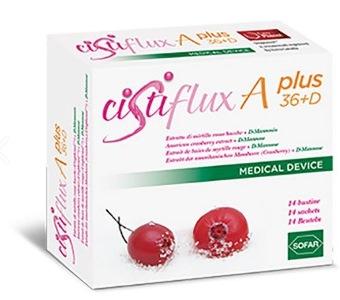 Sofar Cistiflux A Plus 36+D Integratore Alimentare 14 Bustine - Farmaciacarpediem.it