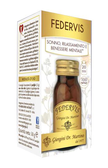 FEDERVIS 100 PASTIGLIE - Farmacia Centrale Dr. Monteleone Adriano