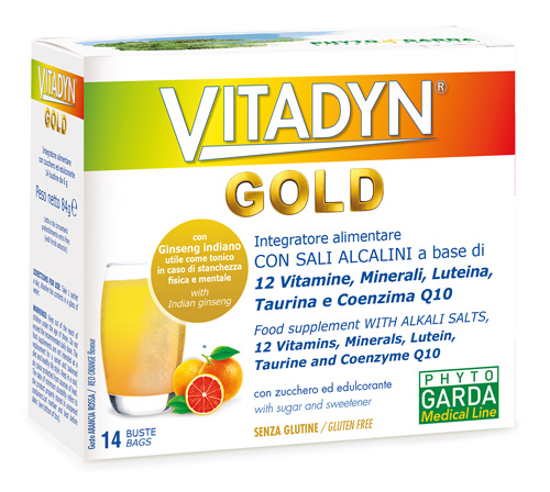 VITADYN GOLD 14 BUSTINE - Spacefarma.it