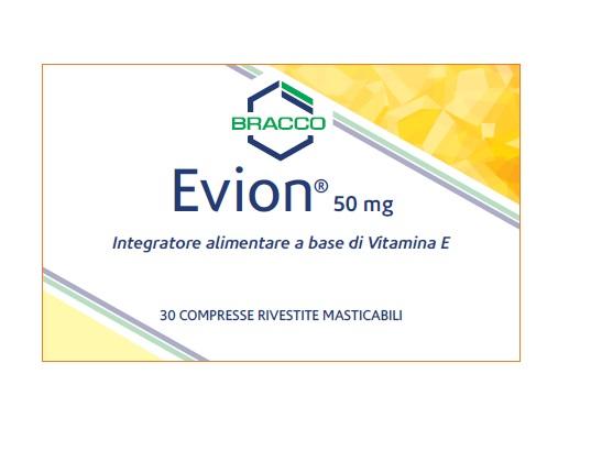 EVION 30 COMPRESSE RIVESTITE MASTICABILI - pharmaluna