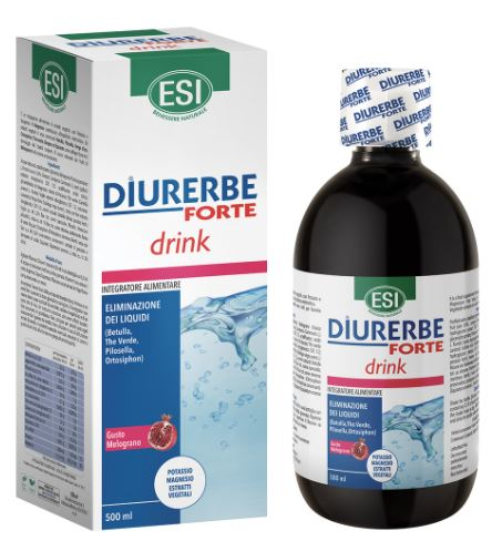 ESI DIURERBE FORTE DRINK MELOGRANO 500 ML - Farmaconvenienza.it