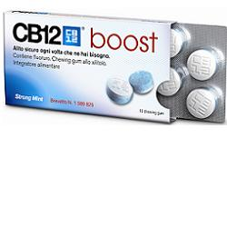 CB12 BOOST 10 CHEWING-GUM 20 G - Farmastar.it