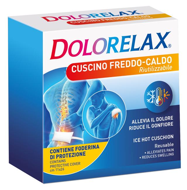 ICE HOT DOLORELAX CUSCINO RIUTILIZZABILE 11X26 CM 2 PEZZI - Farmaunclick.it