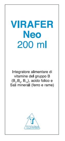 VIRAFER NEO FLACONE 200 ML - Carafarmacia.it
