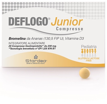 Deflogo Junior 20cpr 230mg - Turbofarma.it