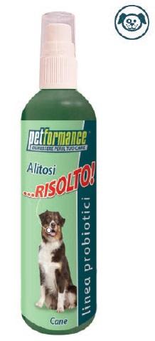 PETFORMANCE ALITOSI RISOLTO CANE - Farmacia Bartoli