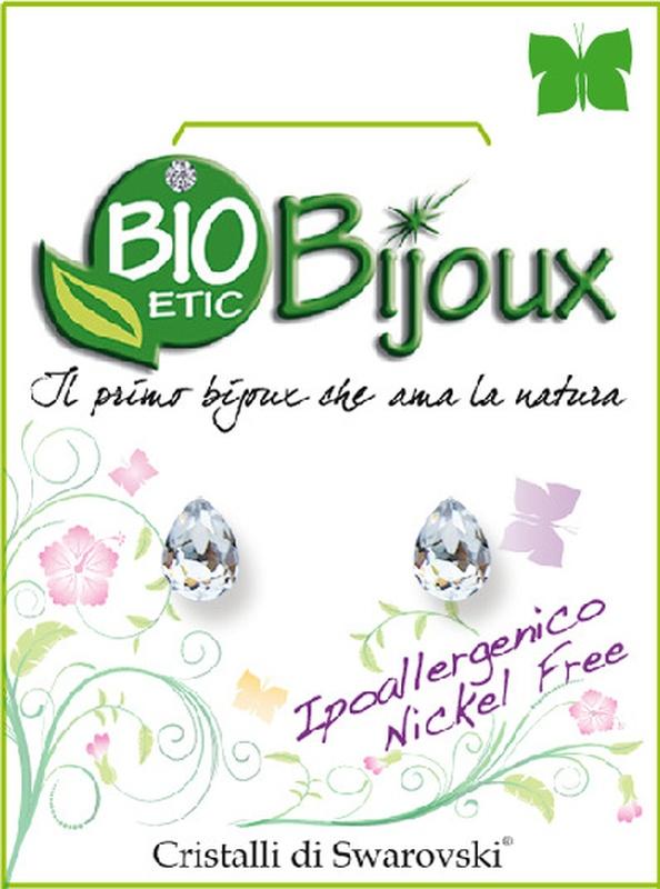 ORECCHINO GOCCIA 6MM CRYSTAL - Farmacia Bartoli