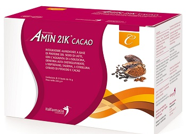 AMIN 21K CACAO 336 G - Farmastop
