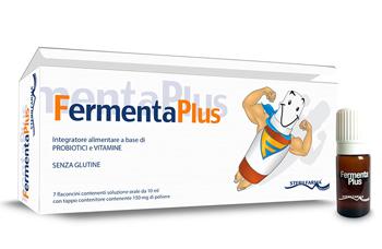 FERMENTA PLUS FERMENTI LATTICI 7 FLACONCINI DA 10 ML - farmaventura.it