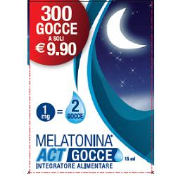 MELATONINA ACT GOCCE 15 ML - La farmacia digitale