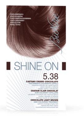 BIONIKE SHINE ON 5,38 CASTANO CHIARO CIOCCOLATO 125 ML - Farmacia Massaro