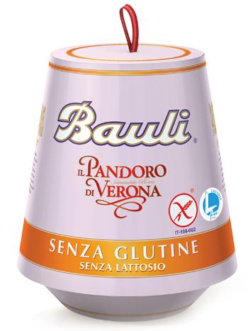 PANDORO BAULI SENZA GLUTINE 500 G - Farmafamily.it
