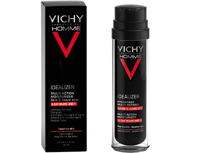 VICHY HOMME IDEALIZER BARBA 50 ML - Farmajoy