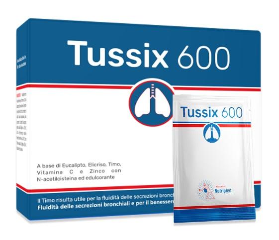 TUSSIX 600 20 BUSTINE - Farmalke.it