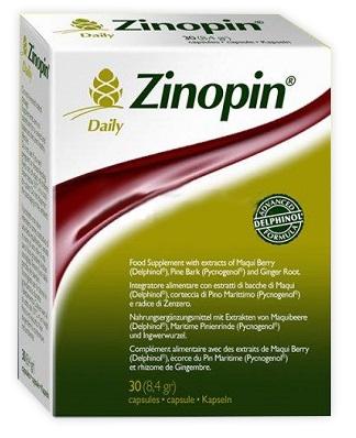 ZINOPIN DAILY 30 CAPSULE VEGETALI BLISTER 8,4 G - Spacefarma.it