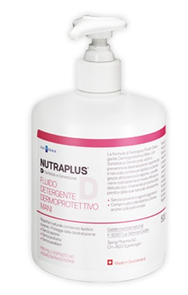 NUTRAPLUS DERMATITIES FLUIDO DETERGENTE MANI 500 ML - Farmapage.it