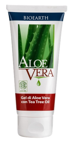 GEL DI ALOE VERA CON TEA TREE OIL 100 ML - COSIMAX SRLS