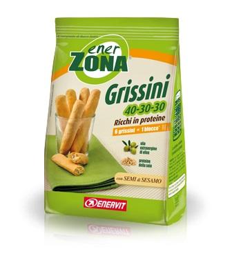 EnerVit Enerzona Grissini 40-30-30 Ricchi In Proteine 5 Porzioni - Zfarmacia