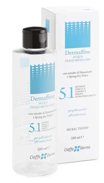 DERMAFFINE ACQUA OLIGOMICELLARE 200 ML - Farmafamily.it