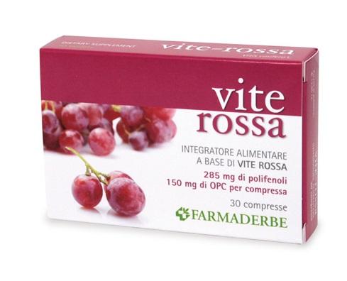 VITE ROSSA 30 COMPRESSE - Farmaseller